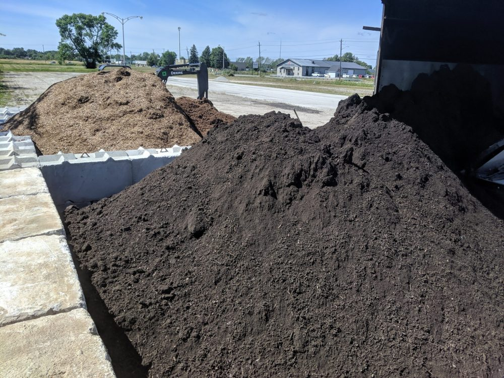 Screened Topsoil & Triple Mix